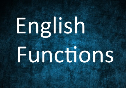 English Functions